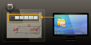PICTURE OF COPYING FLIPCHART OR WORKSHEETS FROM ONE DEVICE TO ANOTHER